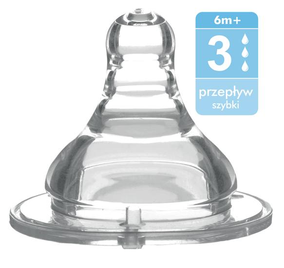 Соска BabyOno антиколиковая силикон с широким горлышком быстрый потокантиколиковая силикон с широким горлышком быстрый потокСоска антиколиковая из силикона для бутылочек с широким горлышком быстрый поток (3)  Антиколиковая: тройная антивакуумная система соски защищает ребёнка от заглатывания воздуха, предотвращая колики  Естественно удлиняющаяся соска: эластичный наконечник соски удлиняется при кормлении, имитируя материнскую грудь   Безопасная: изделие не содержит бисфенола А, соответствует стандартам Евросоюза жёсткий производственный контроль обеспечивает высочайшее качество и безопасность изделия  Рекомендуется использовать для подачи жидкости (молоко, вода, чай, и т.п.)   Вид соски и интенсивность потока должны соответствовать возрасту и индивидуальному развитию ребёнка, а также густоте пищи.<br>