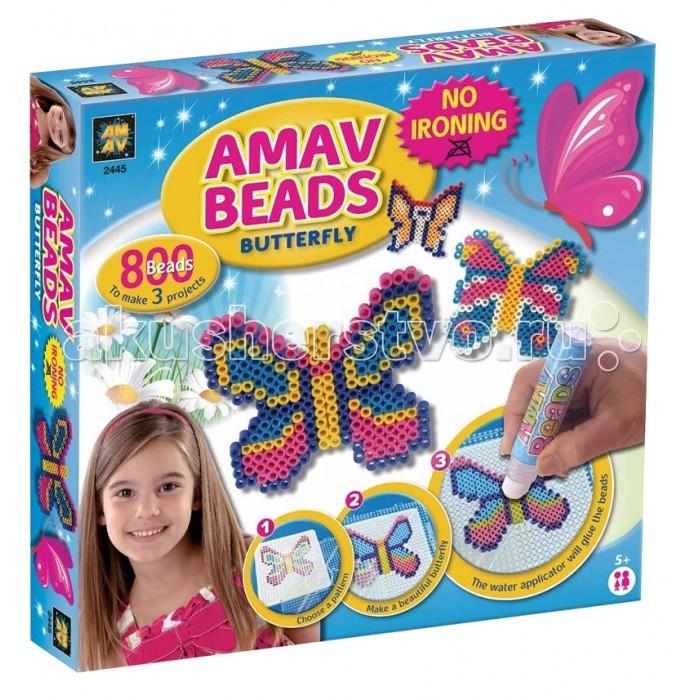 AMAV (Diamant) Набор БабочкиНабор БабочкиНабор Бабочки AMAV (Diamant) 3245.  С помощью данной игры ребенок сможет сложить красивую фигурку бабочки. Как это сделать?   На специальной поверхности нужно выложить фигурку бабочки, как показано в инструкции, используя разноцветные элементы. Далее, нужно провести по фигурке водным аппликатором (вместо клея) для скрепления частей, немного подождать и оригинальная фигурка будет готова. Набор для творчества Бабочки станет приятным подарком на любой праздник.<br>
