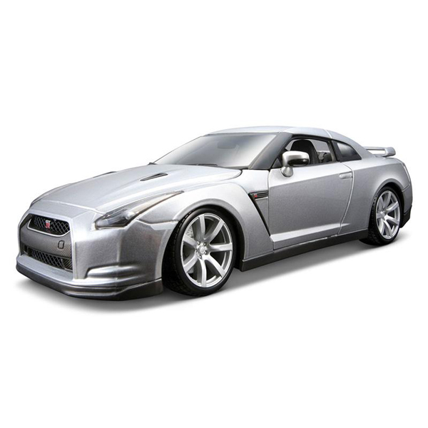 Bburago Машина Nissan GT-RМашина Nissan GT-RМасштабная модель Bburago Nissan GT-R 1:18 18-12079 - точная копия настоящего автомобиля c высокой степенью детализации, которая одинаково понравится как взрослому, так и ребёнку. Игрушка выполнена из прочного металла с пластиковыми элементами и имеет открывающиеся двери, капот и багажник.   Корпус сделан литьевым способом, что обеспечит высокую прочность и долговечность в использовании автомобиля, а также максимальную схожесть с прототипом. Машинка станет хорошей игрушкой для ребенка и отличным дополнением к любой коллекции масштабных автомоделей.  Длина упаковки 29.6  Высота упаковки 12.0  Ширина упаковки 17.5<br>