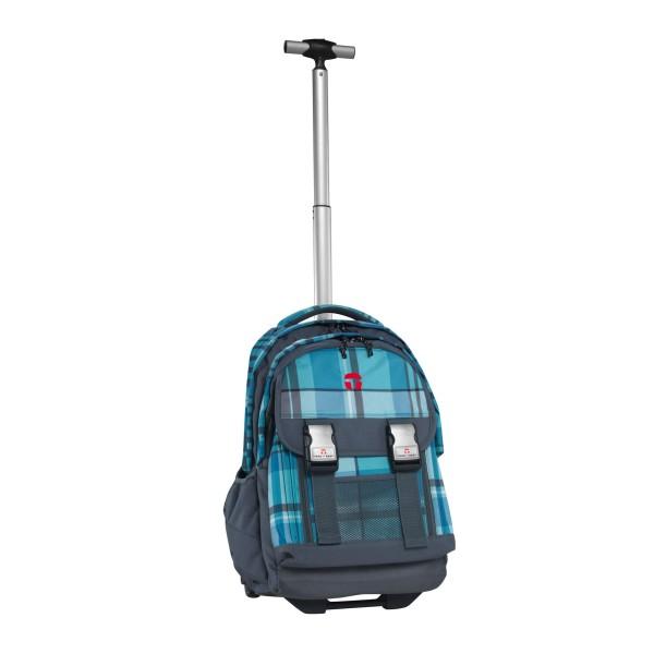 Портфели Take It Easy Рюкзак на колесах с телескопической ручкой Атлантик