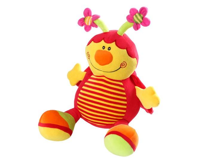 Мягкая игрушка BabyOno Божья КоровкаБожья КоровкаБожья Коровка - это первый друг и товарищ вашему малышу. С ней весело играть даже самым маленьким деткам. Малыши постарше с удовольствием возьмут игрушку с собой в кроватку, т.к. она выполнена из мягкого, уютного материала. С Божьей Коровкой можно поиграть в первые сюжетно-ролевые игры, пусть даже игра будет совсем незатейливой.  Характеристики: ребенок учится координировать свои действия у крохи развивается мелкая моторика и тактильное восприятие у малыша активно развивается зрение формирует эмоциональное и социальное развитие напоминающие животных формы игрушек вызывают интерес и привлекают внимание ребёнка способствует играм и обучению даёт ощущение безопасности внутри игрушки находится погремушка<br>