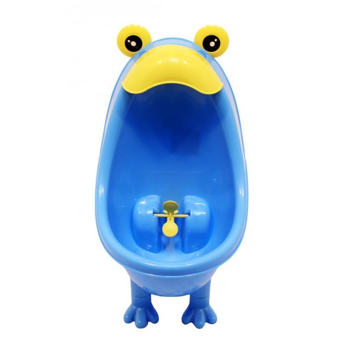 Горшок Roxy Писсуар для мальчиков с прицеломПиссуар для мальчиков с прицеломПиссуар для мальчиков Roxy выполняет две важные функции. Во-первых, он помогает приучить мальчиков с самого раннего возраста к хождению во взрослый туалет, а во-вторых, удовлетворяет потребность малышей во всем подражать родителям.   Писсуар можно как закрепить на стене на присоске, так и просто поставить на пол.  Он сделан из безопасного и качественного пластика.   Писсуар для мальчиков выполнен в двух универсальных цветах – белом и голубом.  Небольшие размеры писсуара позволяют повесить его в любой ванной комнате. Писсуар оснащен специальным прицелом, чтобы малыш попал наверняка.  Внимание! Расцветки в ассортименте!<br>