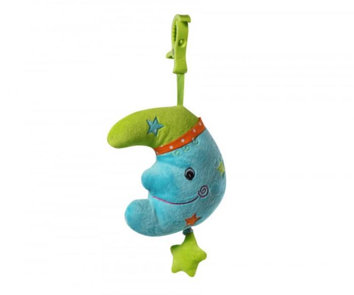 Подвесная игрушка BabyOno ЛунаЛунаЯркая и функциональная музыкальная игрушка Луна, неповторимый дизайн подарит массу положительных эмоций Вашему малышу! Оригинальное исполнение игрушки привлечет внимание крохи. Игрушку легко разместить практически в любом месте времяпрепровождения ребенка, будь то кроватка или манеж, коляска или автокресло! Изучать элементы, из которых состоит игрушка, невероятно интересно.   Особенности подвески: качественные материалы изготовления красочный и яркий дизайн крепится к любому типу коляски и кроватки посредством большого пластикового карабина оригинальное исполнение разнофактурные материалы звуки мелодии развивают способность различать силу звука  Польза и развитие: Занимаясь с подвеской, ребенок будет развивать сенсомоторные навыки, хватательный и удерживающей рефлекс, зрительную координацию, восприятие цветов и форм.  Размер без крепления - 26 см, с креплением - 38 см<br>