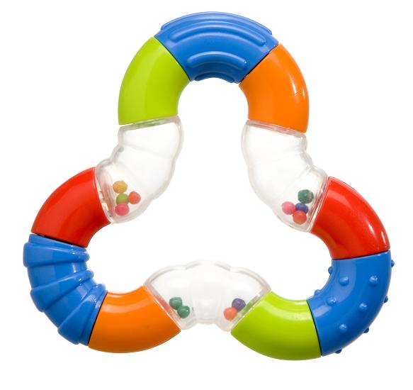 Погремушка BabyOno Магический треугольникМагический треугольникПогремушка Магический треугольник BabyOno для самых маленьких.  Развивающая: развивает осязательные, зрительные и двигательные способности учит причинно-следственным связям разнородная поверхность развивает чувство осязания учит различать формы и цвета звуки погремушки развивают способность различать силу звука развивает навыки захвата ладонью и перекладывания предметов из руки в руку лёгкая конструкция и форма, рассчитанная для маленьких ручек ребёнка  Размер 9х9 см<br>