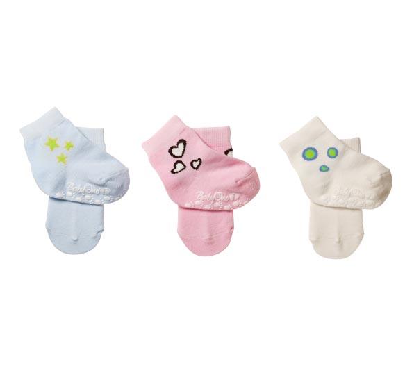 Носочки BabyOno Носочки противоскользящие 0-6 мес 1 пара