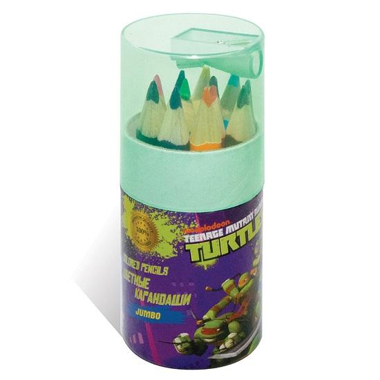 Kuso цветные трехгранные JUMBO мини Черепашки-ниндз, 12 цветов