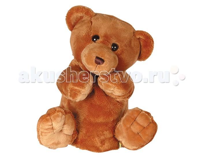 Gulliver Рукавичка-медведь 27 смРукавичка-медведь 27 смМягкая игрушка на руку Gulliver рукавичка-медведь - это забавная игрушка на руку, которая создана для детей старше 3 лет. Она изготовлена из качественных материалов, которые абсолютно безвредны для ребенка. Милая зверушка обязательно понравится вашему малышу, ведь с ее помощью можно разыграть целое представление. Игрушка способствует развитию воображения и тактильной чувствительности у детей.  Высота: 27 см<br>
