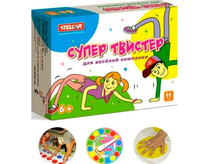 Игровой коврик Стеллар Супер Твистер