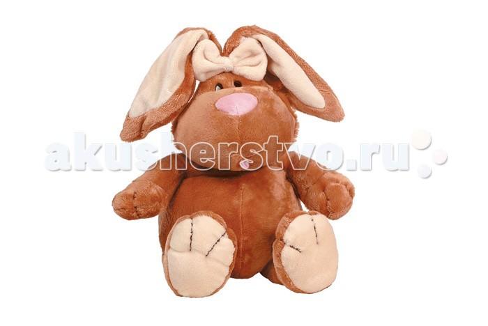 Мягкая игрушка Gulliver Кролик коричневый 71 смКролик коричневый 71 смМягкая игрушка Gulliver Кролик коричневый сидячий, 71 см наверняка понравится Вашему малышу и станет настоящим украшением детской комнаты.   Этот коричневый кролик так и просится в добрые руки. Игрушка очень мягкая и наверняка станет украшением детской комнаты. Плюшевый бант нашит у основания ушей. Глазки кролика сделаны из непрозрачного чёрного платика. Игрушка выполнена из мягкого плюшa и гипoaллepгeнного cинтепoна.<br>
