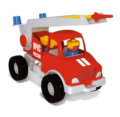 Стеллар Пожарная машинаПожарная машинаСтеллар Пожарная машина - это игрушка от лидера по производству детских товаров.   Лестница выдвигается, башня поворачивается. Пусть ваш ребенок почувствует себя настоящим пожарным. Главное приготовить огромное кол-во воды.<br>