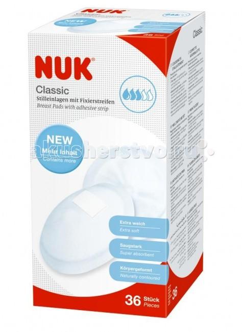 Nuk Прокладки для груди Classic 36 шт.