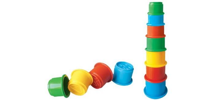 Развивающая игрушка Стеллар Пирамида ЗанимательнаяПирамида ЗанимательнаяРазвивающая игрушка Стеллар Пирамида Занимательная изготовлена из безопасно экологически чистого пластмасса. Яркие цвета привлекут внимание вашего малыша и не позволят ему скучать.   Пирамидка собирается из 8 стаканчиков: красный, желтый, оранжевый, розовый, голубой, синий, свело- и темно-зеленый. Очень многофункциональная игрушка. Пирамидку можно собирать по-разному: устанавливая стаканчики один на другой или же вкладывая их друг в друга. Кроме того, набор можно использовать в песочнице, на пляже и в ванне.  Когда малыш собирает пирамидку, он совершенствует свою мелкую моторику, координацию движений, развивает логическое мышление, а также учится различать цвета и адекватно воспринимать форму и размеры предмета.<br>