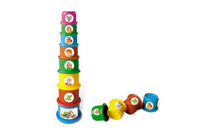 Развивающая игрушка Стеллар Пирамида РепкаПирамида РепкаРазвивающая игрушка Стеллар Пирамида Репка из круглых разноцветных стаканчиков с различным рисунком рельефа на дне и дырочками для воды. На каждом из стаканчиков - наклейка, иллюстрирующая сказку Репка. Таким образом, собирая вместе с мамой пирамидку, малыш будет слушать мамину сказку, и волей-неволей запоминать ее, а вскоре - и подсказывать.  Когда малыш собирает пирамидку, он совершенствует свою мелкую моторику, координацию движений, развивает логическое мышление, а также учится различать цвета и адекватно воспринимать форму и размеры предмета.  Размер самого большого стаканчика: 5 х 7 см<br>