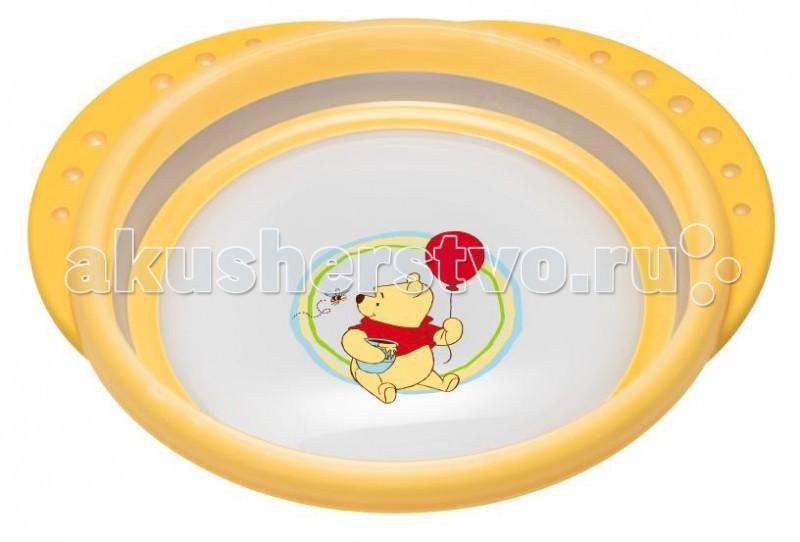 Посуда Nuk Тарелка с крышкой Easy Learning Disney