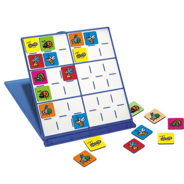 Miniland Магнитная игра СудокуМагнитная игра СудокуЭто математическая головоломка, идеально подходит для путешествий, поскольку изготовлена из пластикового корпуса с магнитной поверхностью, разделенной на шесть полей, каждое поле размечено на шесть квадратов итого их 36 штук.  Цель игры состоит в том, чтобы заполнить все графы без повторения любого из элементов в той же строке, столбце или квадраты.  Игра отлично развивает мышление и логику, понравиться детям младшего и старшего возраста.  Возраст: от 5 до 15 лет<br>