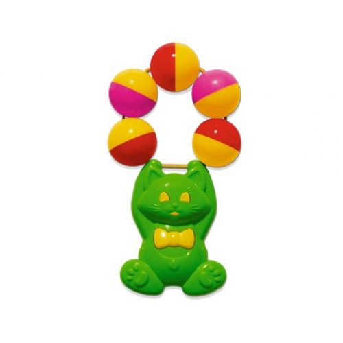 Погремушка Стеллар АкробатикАкробатикПогремушка Стеллар Акробатик предназначена для детей в возрасте от полугода. Ребёнок будет рад играть с необычными по форме погремушками, которые обязательно привлекут его внимание. Погремушки способны развивать у ребёнка слух и осязание.<br>