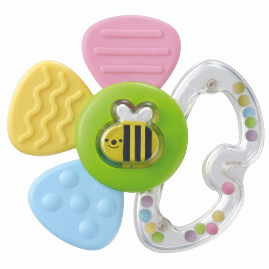 ������������� Combi ���������� Flower Rattle and Teether