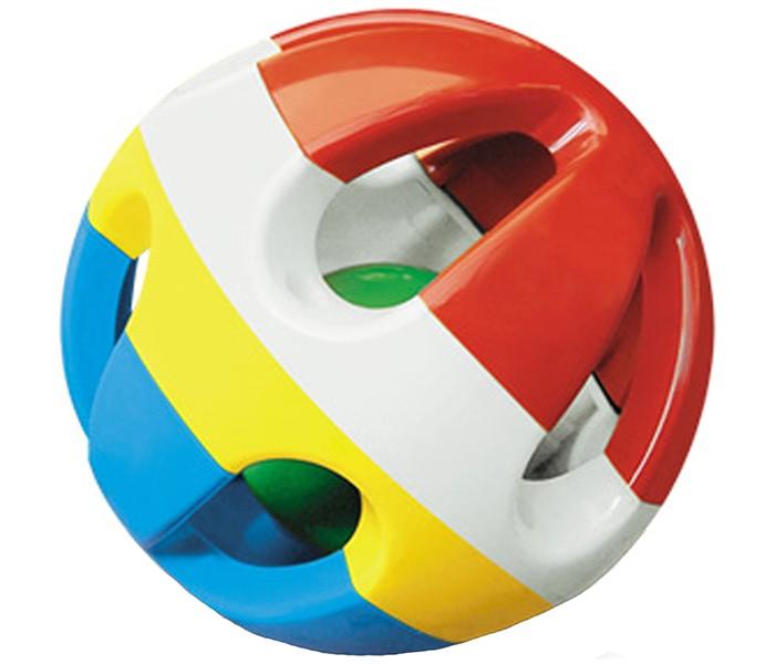Развивающая игрушка Стеллар ШарШарРазвивающая игрушка Стеллар Шар содержит в себе шарик размером меньше основного с еще более мелкими элементами внутри, выполняющими роль погремушки.   Такая игрушка не даст вашему ребенку скучать, кроме того, благодаря данной игрушке у вашего ребенка развивается слух, мелкая моторика рук, тактильные ощущения, мыслительная деятельность. Красочный шарик научит вашего ребенка воспринимать цвета.<br>