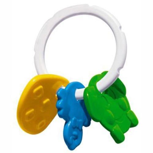 Погремушка Стеллар КолечкоКолечкоПогремушка Стеллар Колечко сделана из высококачественных материалов, которые безопасны для здоровья вашего малыша! Играя с этой погремушкой, ребенок будет развивать моторику рук, тактильное и звуковое восприятие.<br>