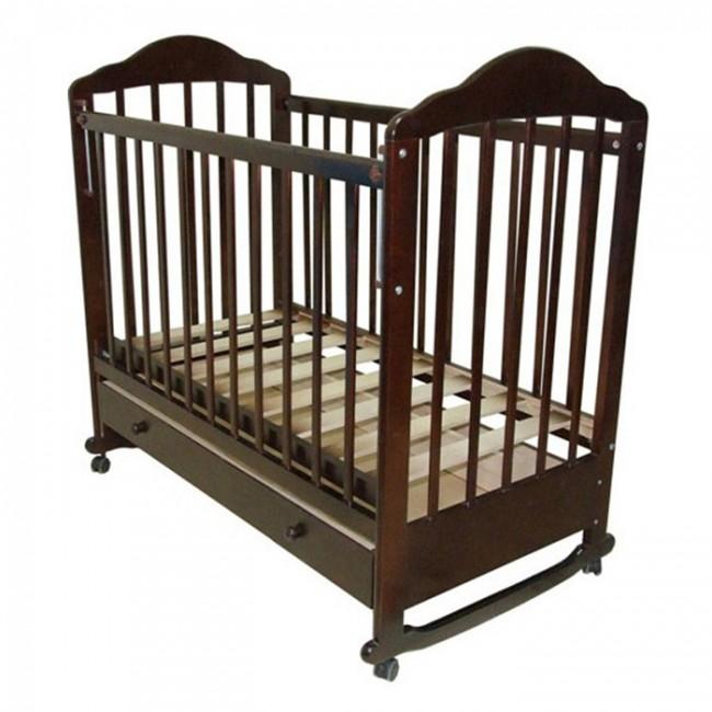 Детская кроватка Ивашка Мой малыш 7 (колесо-качалка)