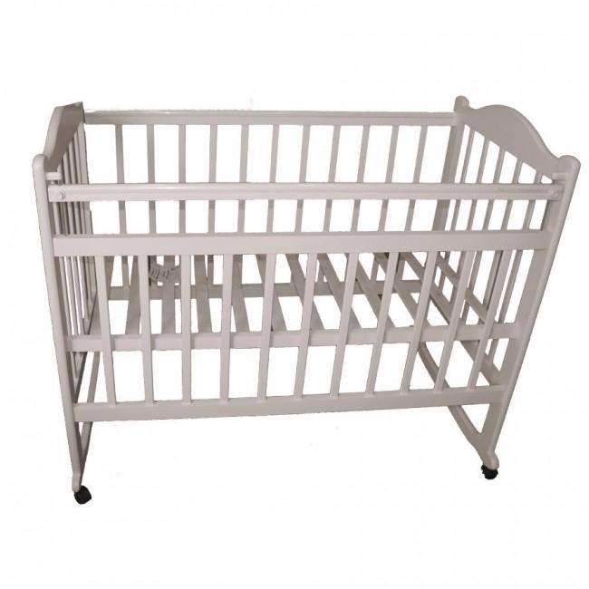 Детская кроватка Ивашка Мой малыш 4 (колесо-качалка)
