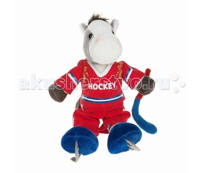 Мягкая игрушка Button Blue Коник-хоккеист Владик 22 см