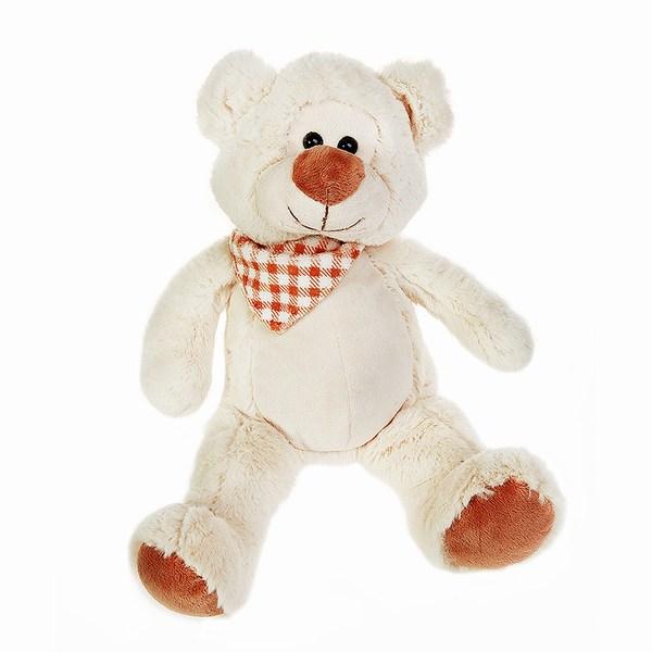 Мягкая игрушка Button Blue Медведь Славик 18 см