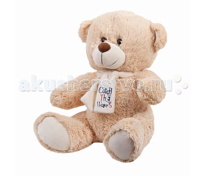 Мягкая игрушка Button Blue Медведь Тишка 40 смМедведь Тишка 40 смМягкая игрушка Button Blue Медведь Тишка привлечет внимание любого малыша.   Забавная мягкая игрушка - прекрасный выбор к любому празднику!  Она изготовлена из высококачественного, безопасного для ребенка искусственного меха с пушистым ворсом, который словно специально создан для самых нежных и приятных касаний! Плюшевый зверек украсит детскую комнату и станет радовать ребенка каждый день.  Мягкая игрушка наполнит мир вашего малыша приятными ощущениями и положительными эмоциями. Способствует развитию воображения и тактильной чувствительности у детей.  Размер игрушки 40 см<br>