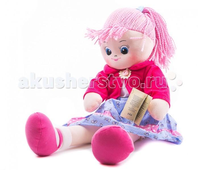 Gulliver Кукла Земляничка 40 смКукла Земляничка 40 смКукла Gulliver Земляничка с двумя косичками обязательно понравится вашей малышке.  Она изготовлена из качественных материалов, которые абсолютно безвредны для ребенка. Игрушка способствует развитию воображения и тактильной чувствительности у детей.  Высота: 40 см<br>