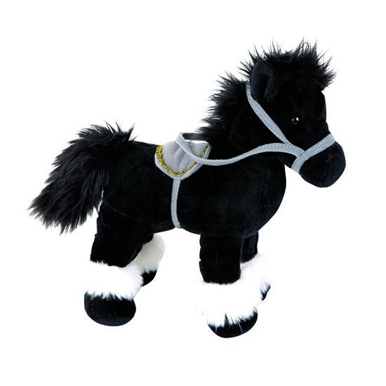 Мягкая игрушка Gulliver Лошадка черная стоячая 20 смЛошадка черная стоячая 20 смМягкая игрушка Gulliver Лошадка черная стоячая – милая мягкая игрушка, которая понравится как детям, так и взрослым.   Она изготовлена из качественных материалов, которые абсолютно безвредны для ребенка.  Игрушка способствует развитию воображения и тактильной чувствительности у детей.  Высота: 20 см<br>