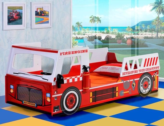Детские кроватки Milli Willi Машина Fire Engine