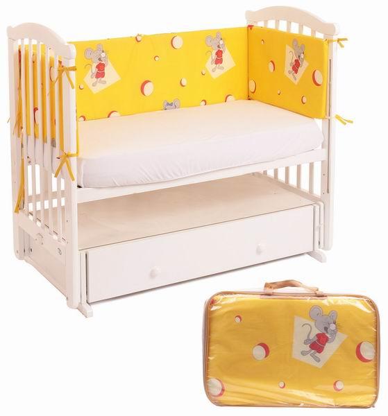 Бамперы для кроваток Lider Kids Акушерство. Ru 950.000