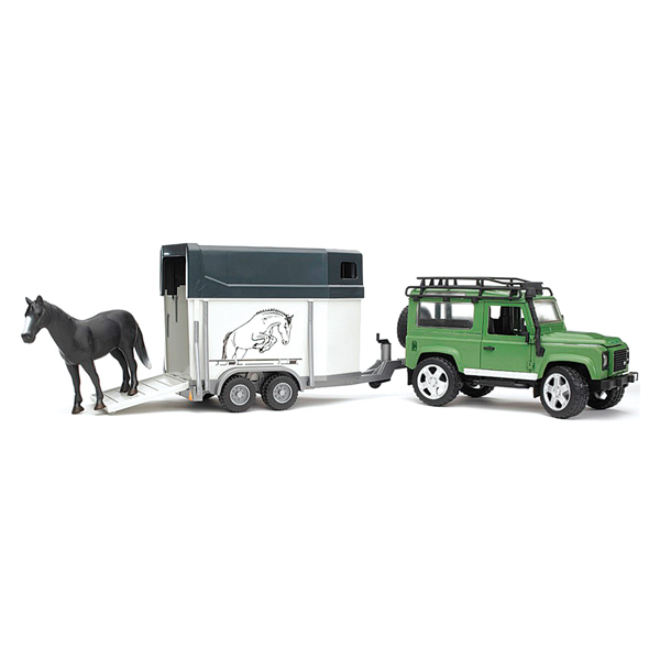 Bruder ����������� Land Rover Defender � ��������-���������� � �������