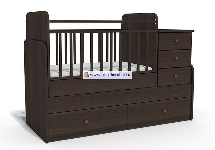 Кроватки-трансформеры Bambu Акушерство. Ru 6900.000