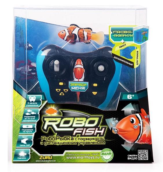 Интерактивная игрушка Robofish РобоРыбка радиоуправляемая