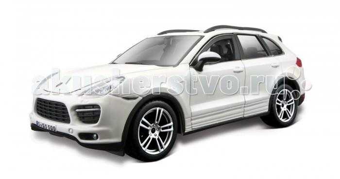 Bburago Машина Porsche Cayenne TurboМашина Porsche Cayenne TurboМашина Bburago Porsche Cayenne Turbo – это копия настоящего автомобиля с полной детализацией всех частей, 1:24  Игрушка выполнена из высококачественного металла и пластика. Детали и края аккуратно обработаны.   Коллекционные машинки Бураго развивают у ребенка развивают координацию движений и меткость, пространственное и образное мышление, воображение, мелкую моторику. С мини-модельками автомобилей Bburago игра станет настолько увлекательной, что оторваться будет невозможно!   Компания Bburago – мировой лидер в производстве коллекционных моделей автомобилей. Более 30 лет профессиональные дизайнеры Bburago разрабатывают точные копии современных машин и ретро машин известных марок. С автомобилями Bburago можно не только играть, но и сделать их частью своей коллекции!<br>