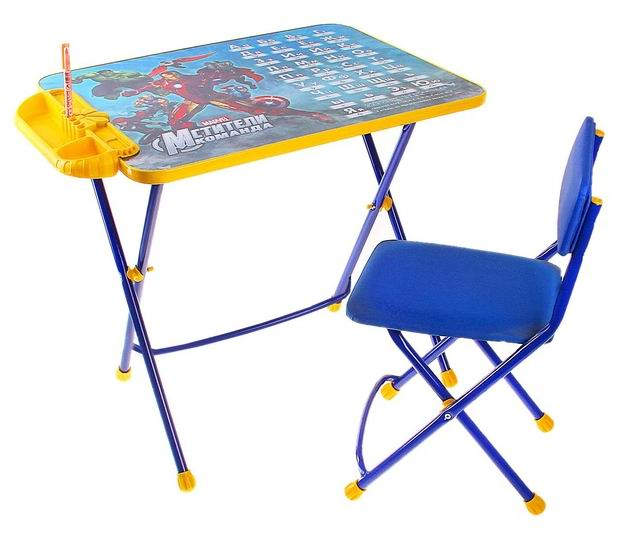Ника Набор мебели Мстители (стол-парта+стул)