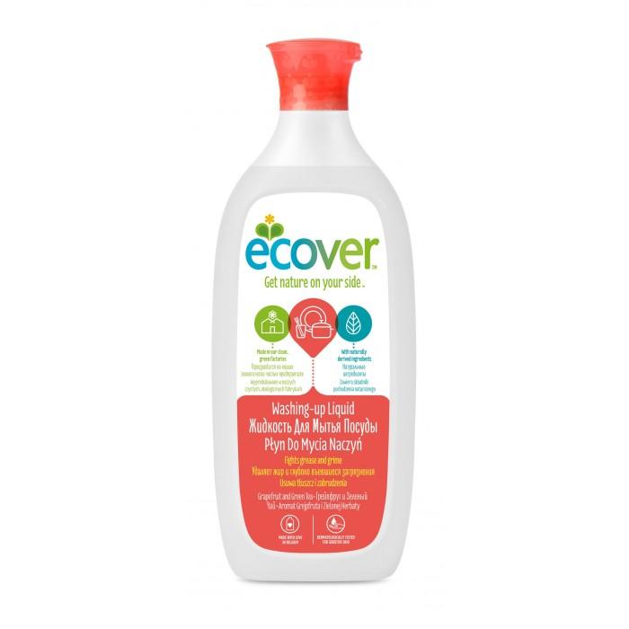 Ecover Экологическая жидкость для мытья посуды с грейпфрутом и зеленым чаем 500 млЭкологическая жидкость для мытья посуды с грейпфрутом и зеленым чаем 500 млЭкологическая жидкость для мытья посуды с грейпфрутом и зеленым чаем эффективно растворяет жир. Создано только на растительно-минеральной основе. Не содержит нефтепродуктов. Отлично смывается водой, не оставляя частиц средства на посуде! Безопасно для окружающей среды и источников вод. Экономично в использовании. Полностью биоразлагается. Не наносит ущерб Вашим рукам. Обладает приятным ароматом грейпфрута.  Состав: >30%: вода; 5-15%: анеонные и неионные экосурфактанты (био-ПАВ на растительной основе); >5%: экстракт зеленого чая, лимонная кислота, соль, натуральный ароматизатор (тип: грейпфрут; содержит лимонен); 0,02% 2-бром-2-нитропропан-1,3-диол.  Способ применения: Небольшое количество нанести на влажную губку, затем нанести на посуду и смыть. Продукт эффективен без большого количества пены.  Упаковка: 500 мл.<br>