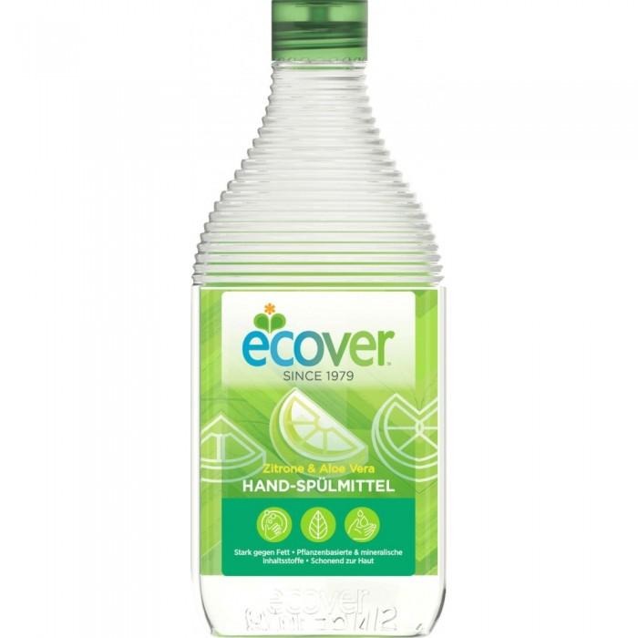 Ecover Экологическая жидкость для мытья посуды с лимоном и алоэ-вера ?лЭкологическая жидкость для мытья посуды с лимоном и алоэ-вера не содержит нефтепродуктов. Отлично смывается водой, не оставляя частиц на посуде! Безопасно для окружающей среды и источников вод. Экономично в использовании. Полностью биоразлагаеться. Не наносит ущерб Вашим ручкам. Обладает приятным ароматом лимона.  Состав: >30%: вода; 5-15%: анеонные и неионные экосурфактанты (био-ПАВ на растительной основе); >5%: алоэ-вера, протеины пшеницы, лимонная кислота, соль, натуральный ароматизатор (тип: лимон; содержит лимонен); 0,02% 2-бром-2-нитропропан-1,3-диол.  Способ применения: Небольшое количество нанести на влажную губку нанести на посуду и смыть. Средство эффективно без большого количества пены.  Упаковка: 500 мл<br>