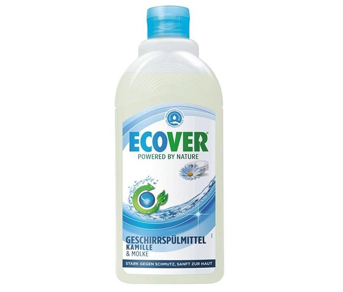 Ecover Экологическая жидкость для мытья посуды с ромашкой и молочной сывороткой 500 млЭкологическая жидкость для мытья посуды с ромашкой и молочной сывороткой 500 млЭкологическая жидкость для мытья посуды с ромашкой и молочной сывороткой не содержит нефтепродуктов. Отлично смывается водой, не оставляя частиц на посуде! Безопасно для окружающей среды и источников вод. Экономично в использовании. Полностью биоразлагаеться. Не наносит ущерб Вашим ручкам. Обладает приятным ароматом ромашки.  Состав: >30%: вода; 5-15%: анеонные и неионные экосурфактанты (био-ПАВ на растительной основе); >5%: экстракт календулы, экстракт ромашки, лимонная кислота, молочная сыворотка, соль, натуральный ароматизатор ромашка, лимонен, 0.02% 2-бром-2-нитропропан-1,3-диол   Способ применения: Небольшое количество нанести на влажную губку нанести на посуду и смыть. Средство эффективно без большого количества пены.  Упаковка: 500 мл<br>