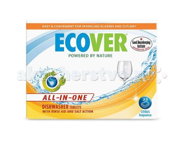 Моющие средства Ecover Таблетки для посудомоечной машины 3 в 1 500 г
