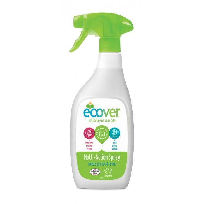 Ecover Экологический спрей для чистки любых поверхностей 500 млЭкологический спрей для чистки любых поверхностей 500 млЭкологический спрей для чистки любых поверхностей! Эффективно и легко удаляет жир и грязь. Подходит для поверхностей кухни и ванной, плиток, стекла, эмали, акриловых и хромовых поверхностей. Созданы только на растительной и минеральной основе, не содержат нефтепродуктов! Быстро и полностью биоразлагаемо!  Состав: >30% вода; 5-15%: спирт на растительной основе, 5%: неионные эко-ПАВы, цитрат, молочная кислота, натуральный ароматизатор (тип цветочный).  Способ применения: Распылить небольшое количество спрея на загрязненную поверхность и затем протереть. Нет необходимости смывать.  Упаковка: 500 мл<br>