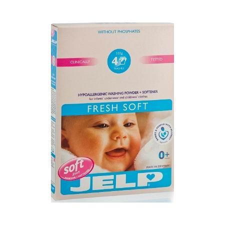 Моющие средства Jelp Стиральный порошок Fresh Soft 2 в 1 с первых дней жизни 320 г