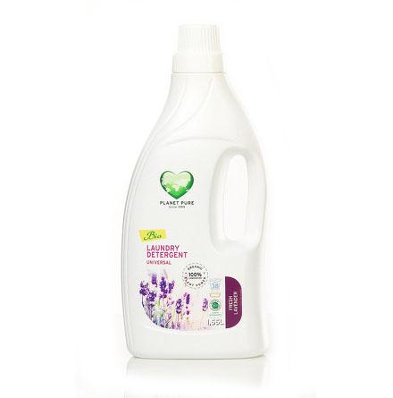 Моющие средства Planet Pure Органическое жидкое средство для стирки Универсальное 1.55 л