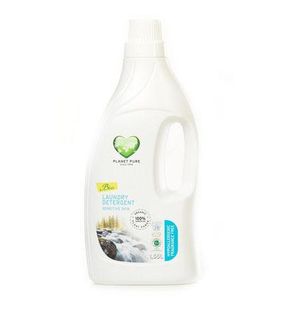Моющие средства Planet Pure Органическое жидкое средство для стирки Гипоаллергенное 1.55 л