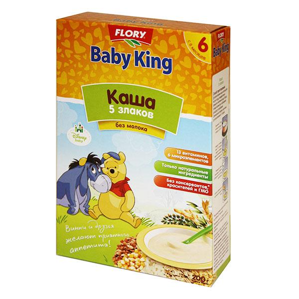 Каши Baby King Акушерство. Ru 100.000