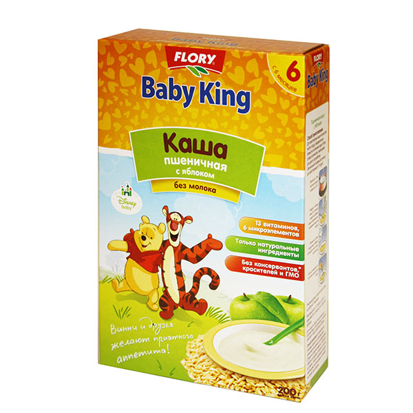 Каши Baby King Акушерство. Ru 110.000