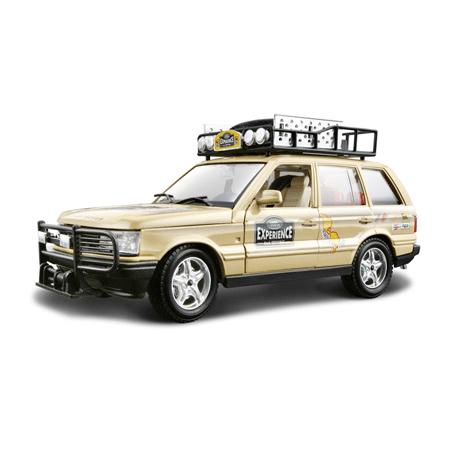 Bburago Машина Range Rover SafariМашина Range Rover SafariМашина Bburago Range Rover Safari – это копия настоящего автомобиля с полной детализацией всех частей, 1:24  Игрушка выполнена из высококачественного металла и пластика. Детали и края аккуратно обработаны.   Коллекционные машинки Бураго развивают у ребенка развивают координацию движений и меткость, пространственное и образное мышление, воображение, мелкую моторику. С мини-модельками автомобилей Bburago игра станет настолько увлекательной, что оторваться будет невозможно!   Компания Bburago – мировой лидер в производстве коллекционных моделей автомобилей. Более 30 лет профессиональные дизайнеры Bburago разрабатывают точные копии современных машин и ретро машин известных марок. С автомобилями Bburago можно не только играть, но и сделать их частью своей коллекции!<br>