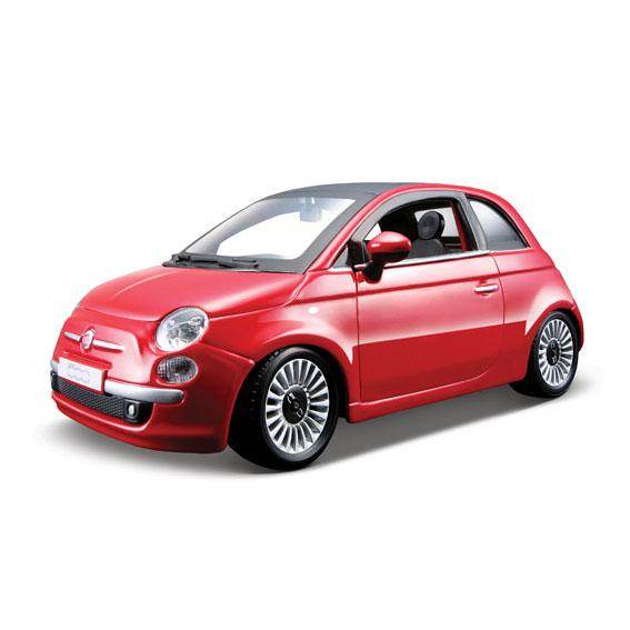 Bburago Машина Fiat 500Машина Fiat 500Машина Bburago Fiat 500 – это копия настоящего автомобиля с полной детализацией всех частей, 1:24  Игрушка выполнена из высококачественного металла и пластика. Детали и края аккуратно обработаны.   Коллекционные машинки Бураго развивают у ребенка развивают координацию движений и меткость, пространственное и образное мышление, воображение, мелкую моторику. С мини-модельками автомобилей Bburago игра станет настолько увлекательной, что оторваться будет невозможно!   Компания Bburago – мировой лидер в производстве коллекционных моделей автомобилей. Более 30 лет профессиональные дизайнеры Bburago разрабатывают точные копии современных машин и ретро машин известных марок. С автомобилями Bburago можно не только играть, но и сделать их частью своей коллекции!<br>