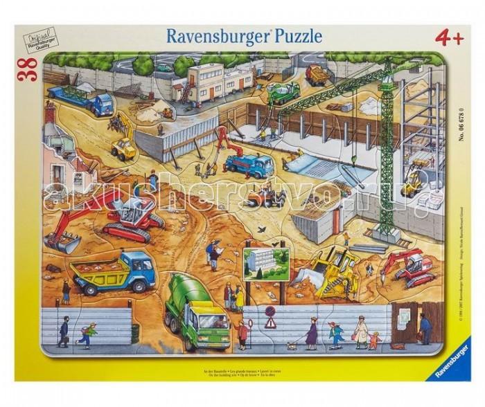 Ravensburger Пазл На стройке 38 элементов